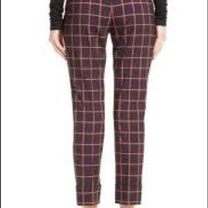 Theory Pants & Jumpsuits - Theory high rise check plaid pants.